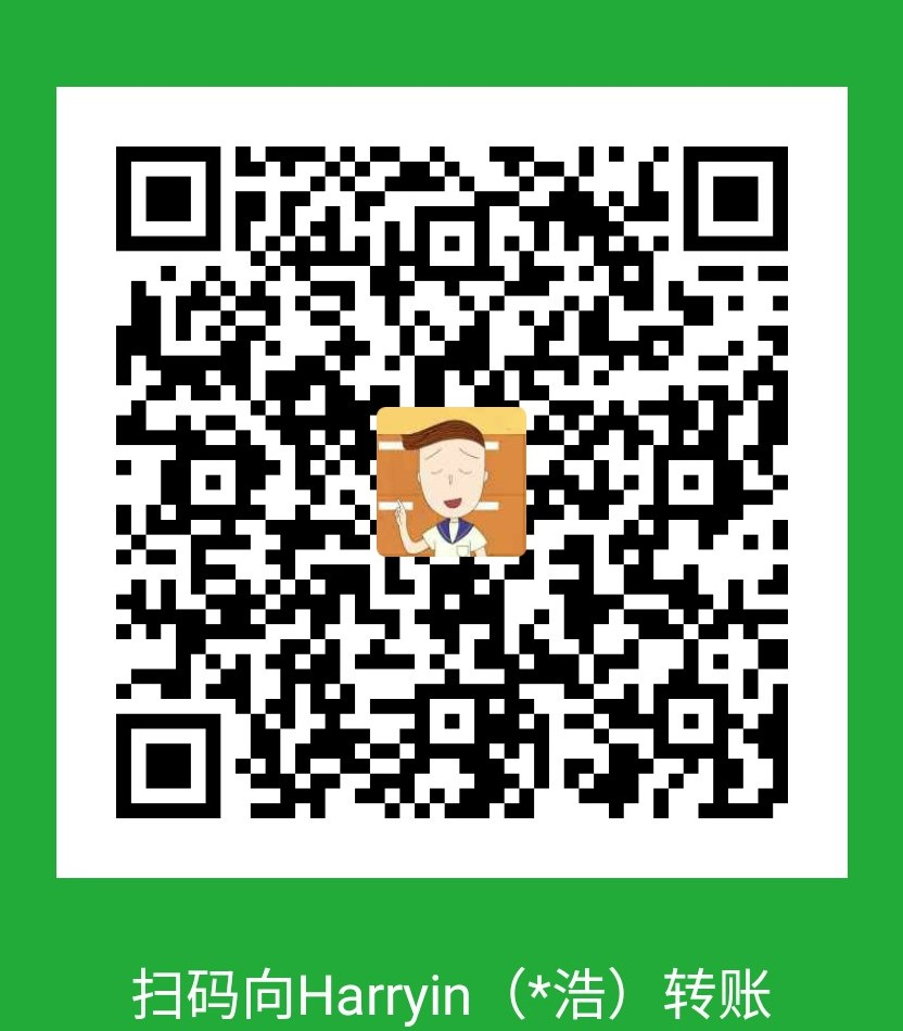 Harryin WeChat Pay
